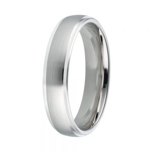 DOOSTI Partnerring / Trauring 925/- Silber - inkl. Gratis Gravur