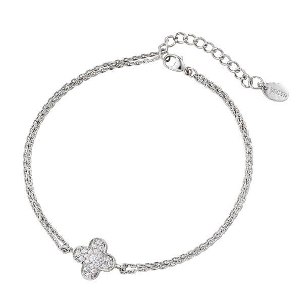 DOOSTI Damen Armband 925 Silber rhodiniert