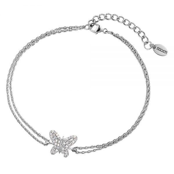 DOOSTI Damen Armband Schmetterling 925 Silber rhodiniert